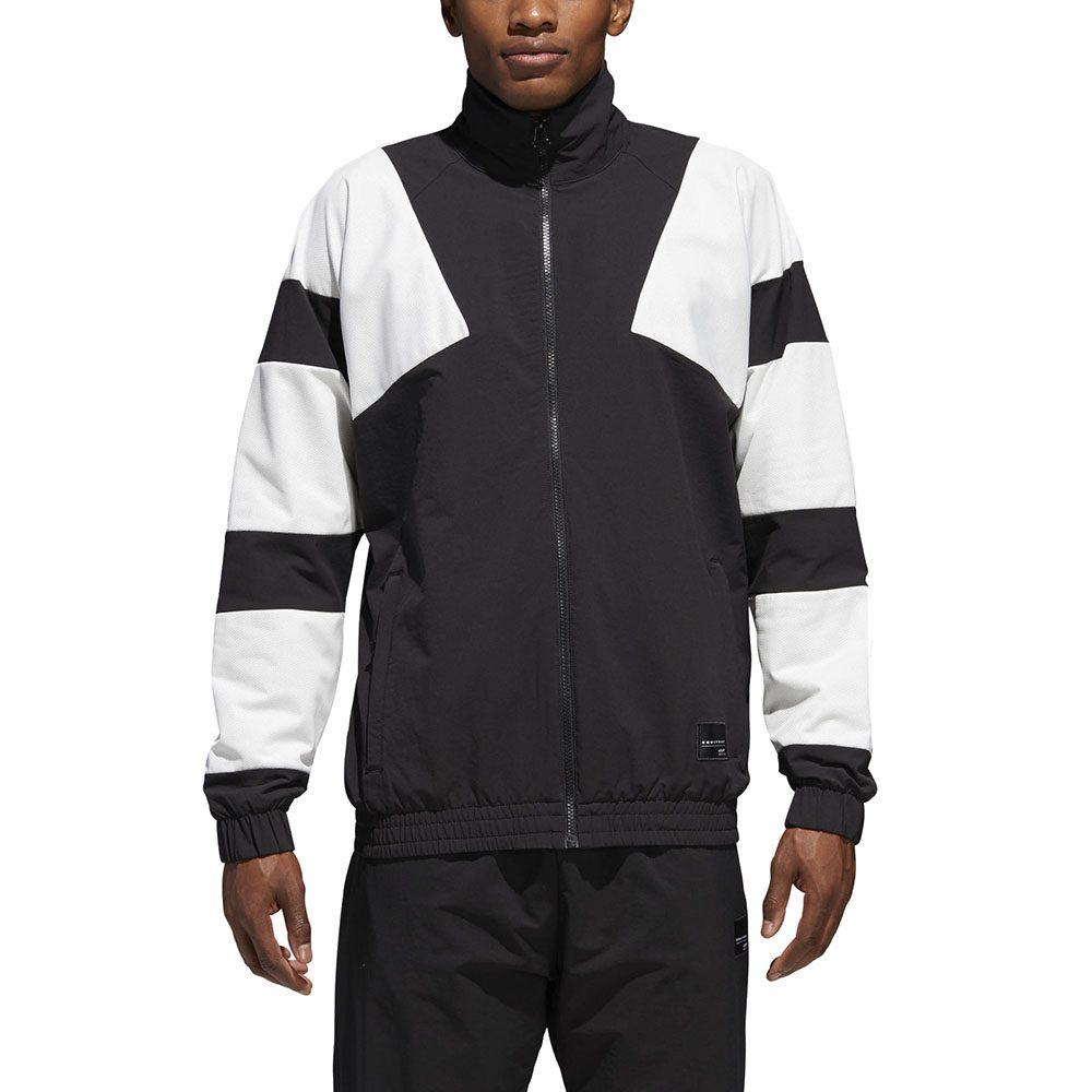 Adidas Men's EQT Bold 2.0 Track Jacket Black/White CE2234 NEW! | eBay