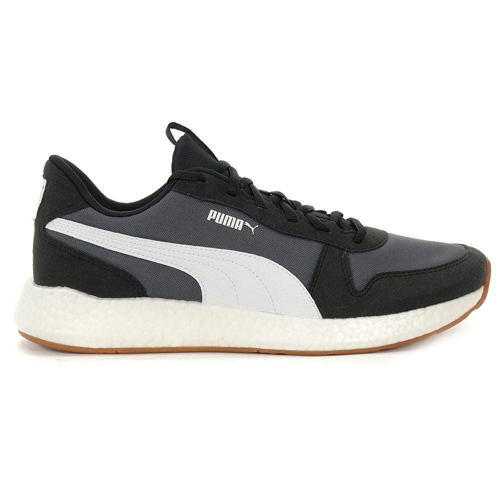 PUMA Men's Nrgy Neko Retro Shoes Puma BlackAsphalt 19250902