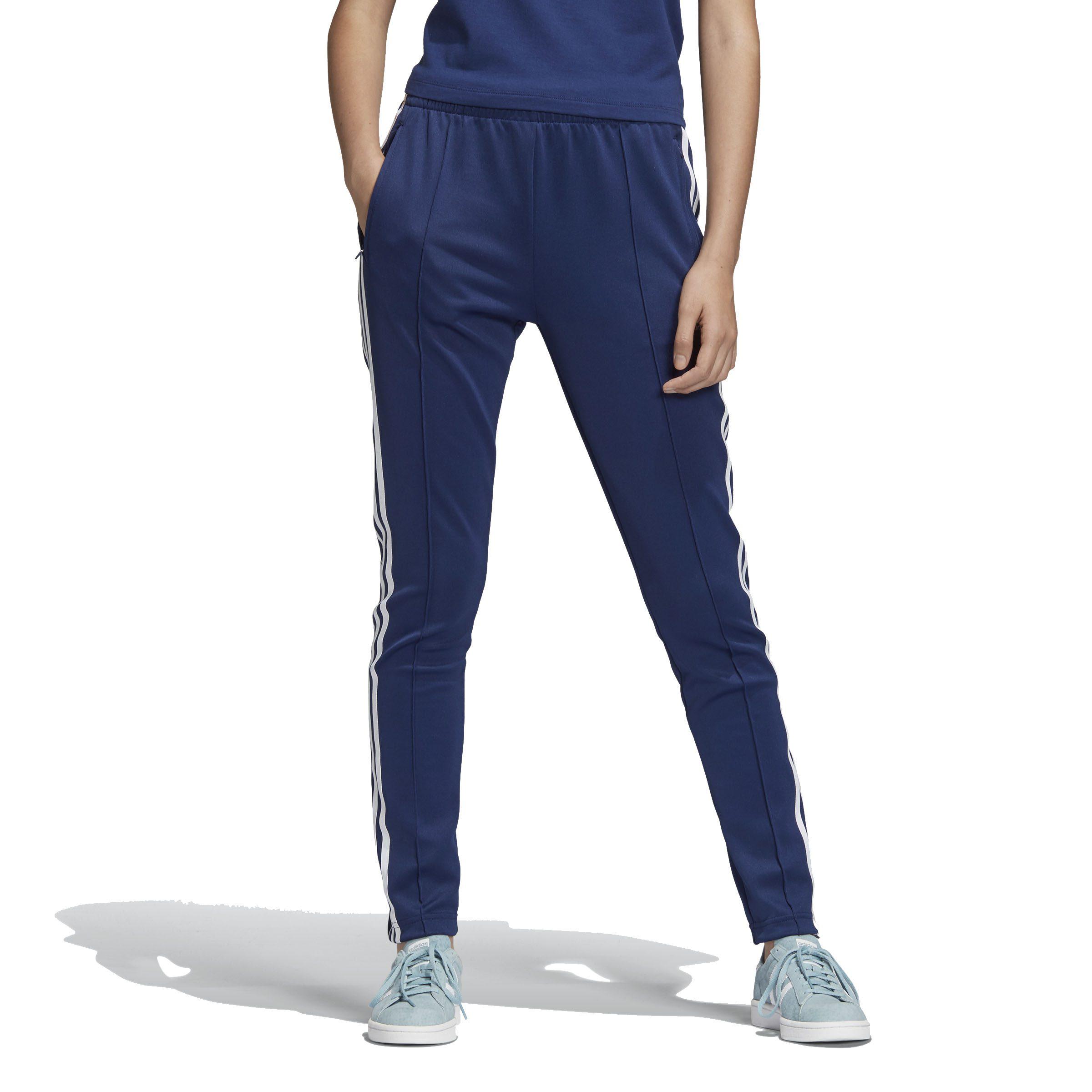Adidas Originals Women S Sst Track Pants Dark Blue Dv2639 New Ebay