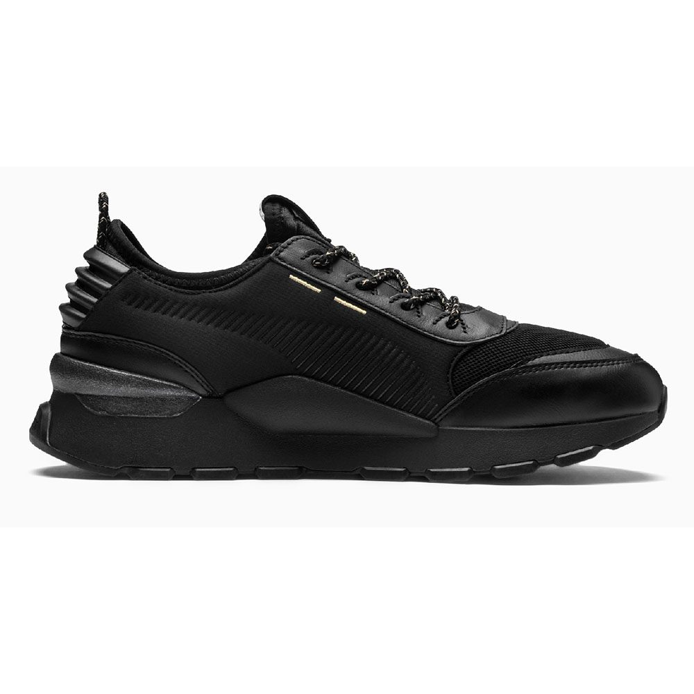 PUMA Men's RS-0 Trophy Black Shoes