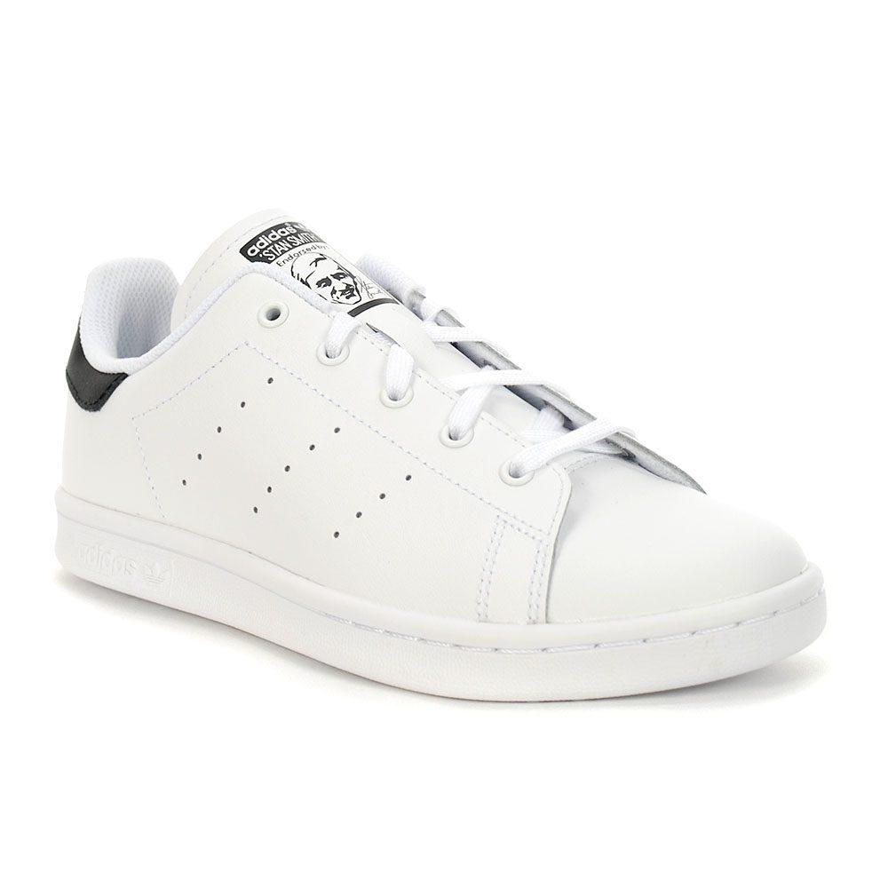 Adidas Kid's Stan Smith Cloud White/Core Black/Coud White Shoes ...