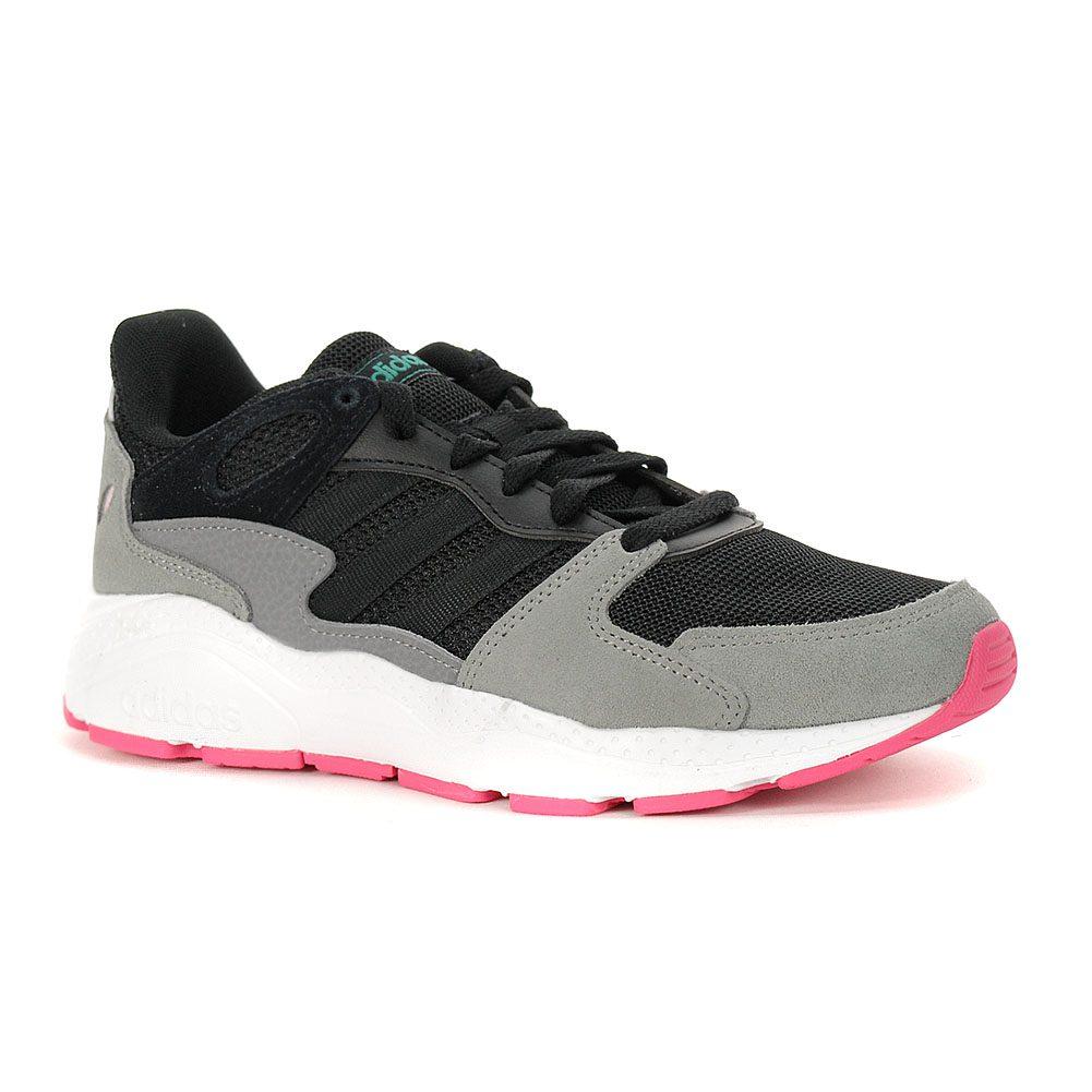 carencia Completamente seco puerta  Adidas Women's Crazychaos Core Black/Real Pink Running Shoes EF1060 -  WOOKI.COM