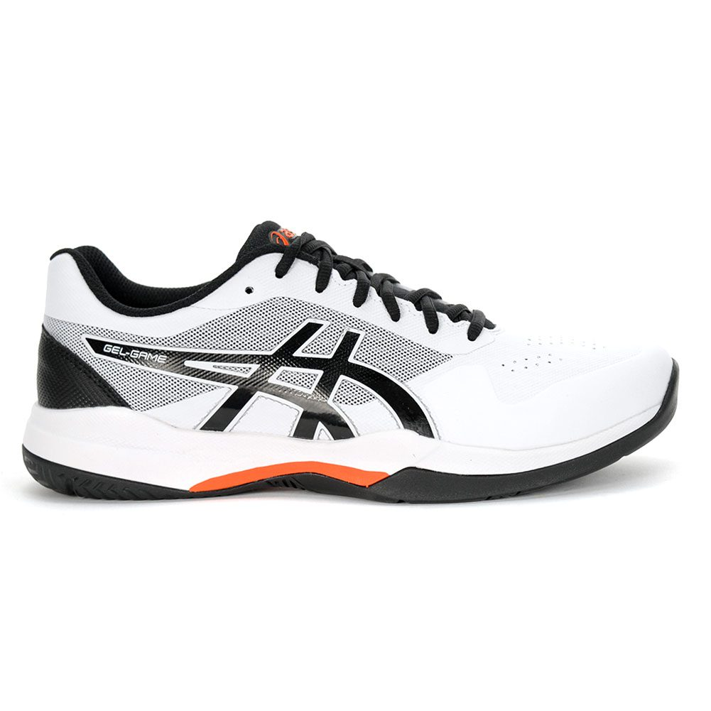 doloroso centavo Acercarse  ASICS Men's Gel-Game 7 White/Black Tennis Shoes 1041A042.105 NEW   eBay