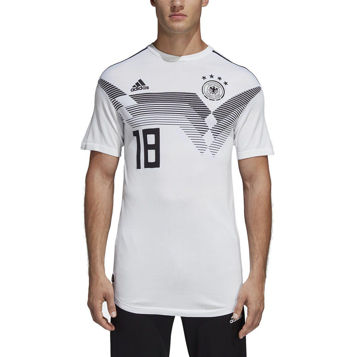 Adidas Soccer Men's Germany Home Jersey White Soccer Jersey CE8462 ...