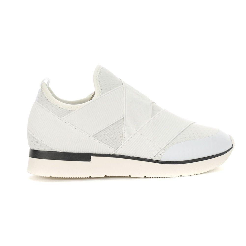 Ginny White Nylon/Mesh Shoes - WOOKI