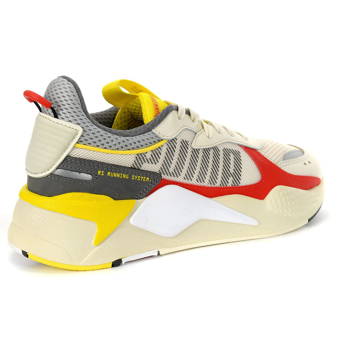 Puma Men's RS-X Bold Whisper White/High Risk Red Sneakers ...