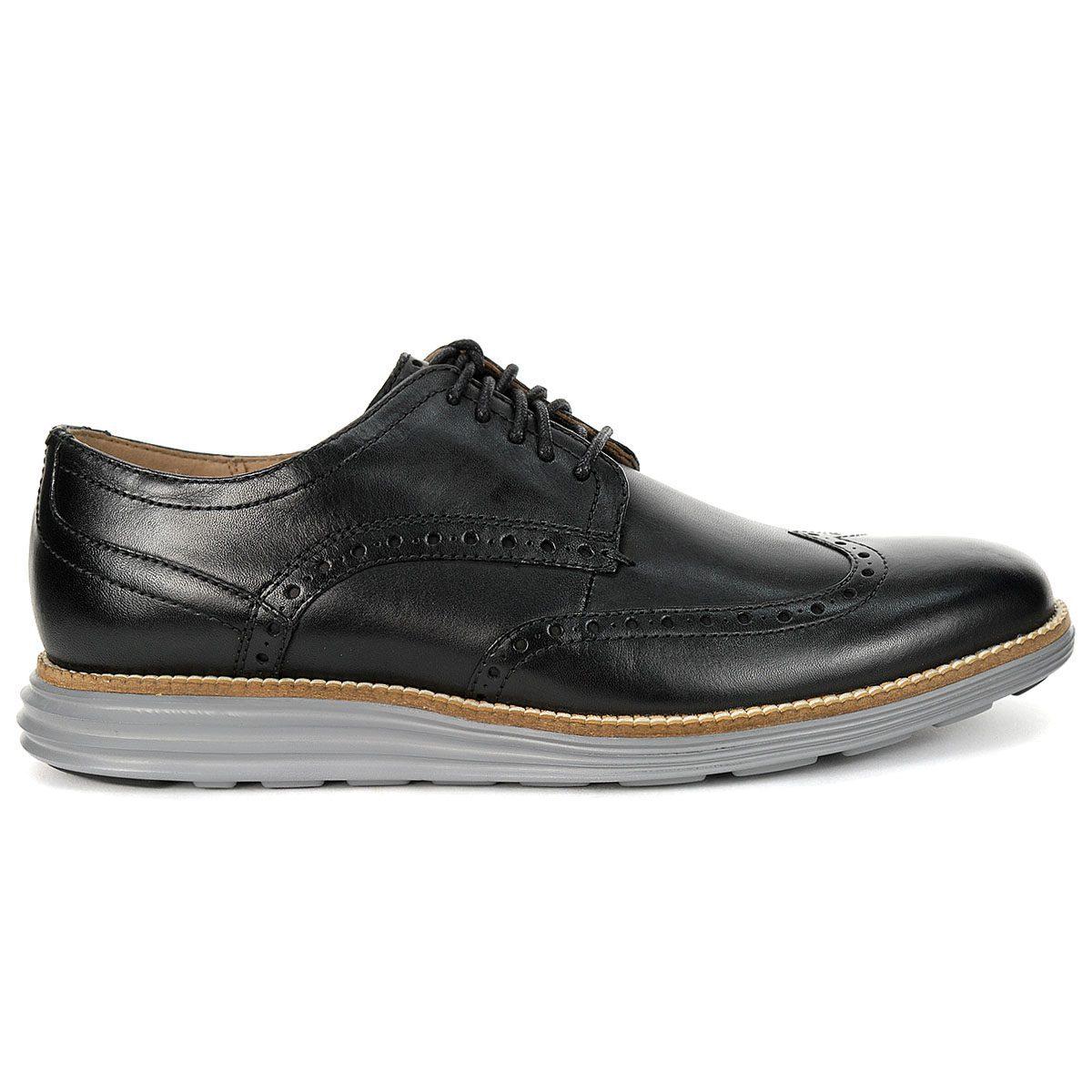 Cole Haan Mens Originalgrand Ultra Black Oxford Dress Shoe Size 11