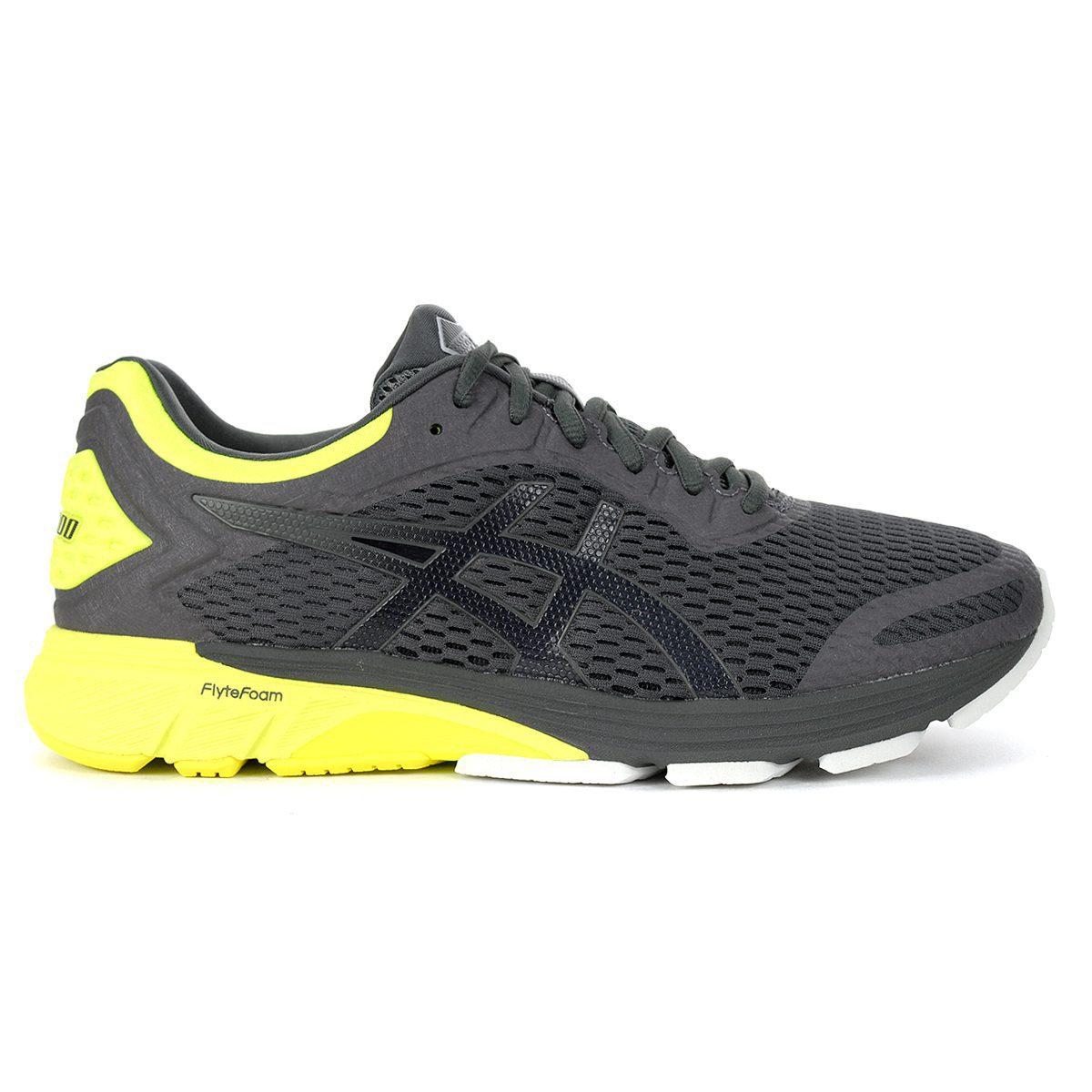 Dark Grey/Safety Yellow Running Shoes