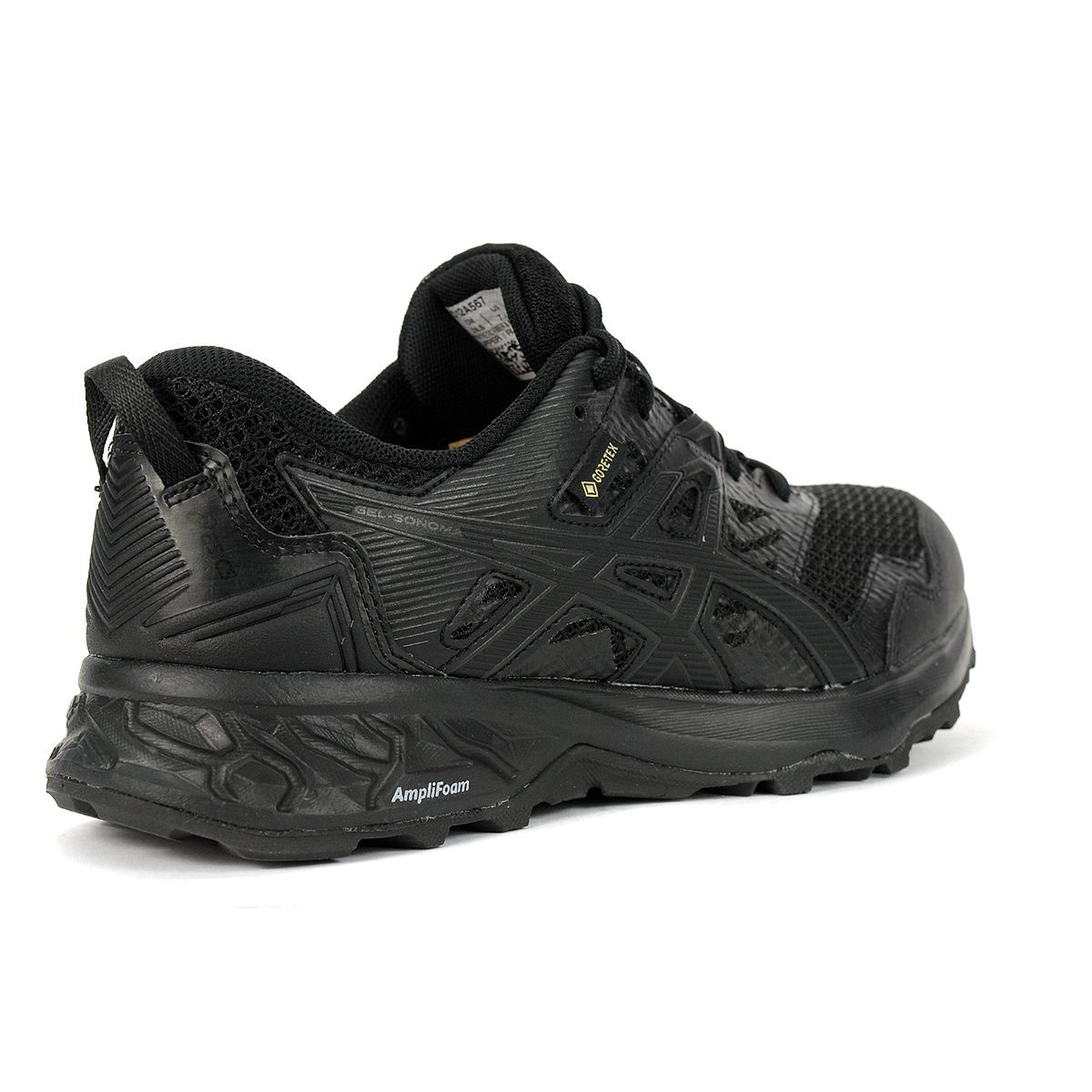 ASICS Women's Gel-Sonoma 5 GTX Black Trail Running Shoes 1012A567 ...