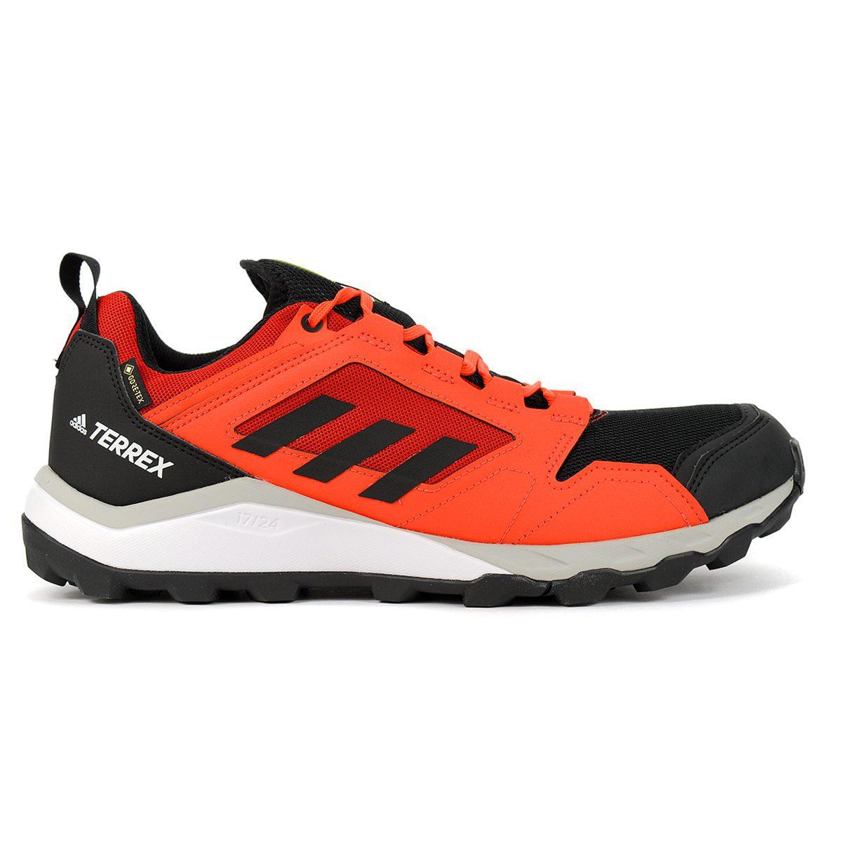adidas Men's Terrex Agravic TR GTX Solar Red/Black/Grey Trail ...
